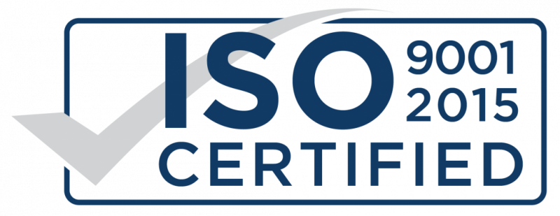 Certified By ISO 9001:2015