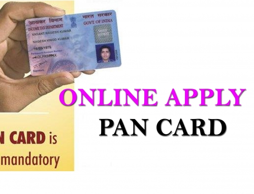 How to apply for an online PAN card Application form
