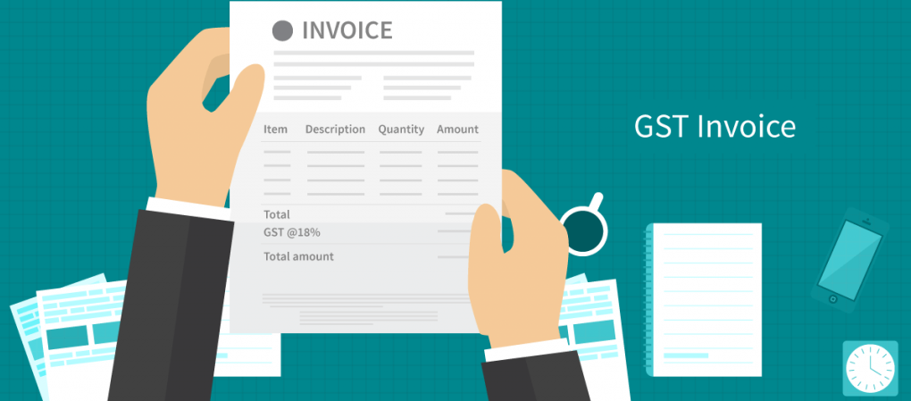 How To Prepare GST Invoice Details Copies Sample LegalRaasta - Sample consultant invoice template tobacco online store