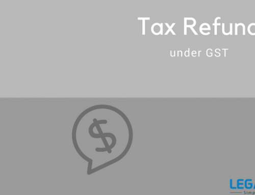 Tax Refund under GST