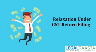 Relaxation in return filing