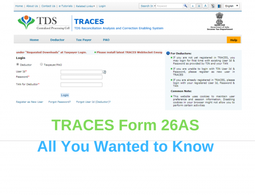 Understanding Form 26AS on the Traces website