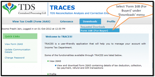 Types of TDS Certificates | Form 16 & Form 16A | Legalraasta
